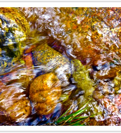 Gore Creek Abstract 1 Sticker