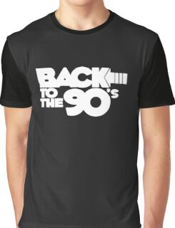 BACK TO THE 90s FUNNY LOGO Graphic T-Shirt