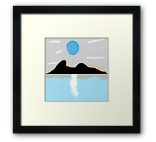 California Wildfire Framed Print