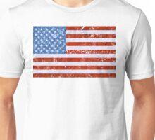 USA FLAG MARBLE Unisex T-Shirt