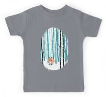 Fox in the Forest Kids Tee
