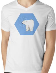 Polar Bear #8 Mens V-Neck T-Shirt