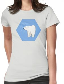 Polar Bear #8 Womens Fitted T-Shirt