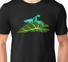 Blue Asian Mantis Unisex T-Shirt