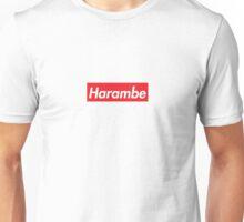 HARAMBE SUPREME BOX LOGO Unisex T-Shirt