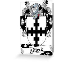Affleck Greeting Card