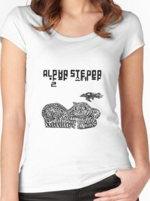 Alpha Steppa ! Women's Fitted Scoop T-Shirt