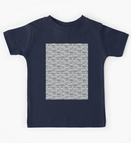 Whales and Waves Kids Tee