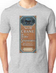 Performing Arts Posters Wm H Crane as Peter Stuyvesant Governor of New Amsterdam by Brander Matthews Bronson Howard 1479 Unisex T-Shirt
