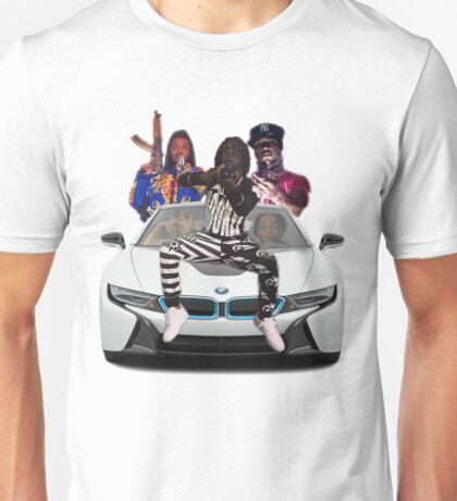 Capo Chief keef Tadoe Tray Savage Lil Fash Pointing Guns Unisex T-Shirt