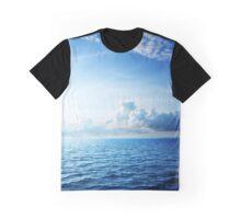 Deep Blue Graphic T-Shirt