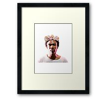 Pretty Gambino Framed Print