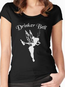 Drinkerbell Women's Fitted Scoop T-Shirt