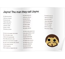 Jayne! The Hero of Canton Poster