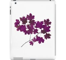 Maple iPad Case/Skin