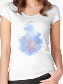 P R I M E Snowflake [Larger] Women's Fitted Scoop T-Shirt