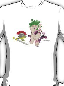 Medusa - a naughty classic greek monster pinup! T-Shirt