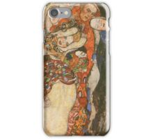 Gustav Klimt - The Bride Unfinished 1918 iPhone Case/Skin