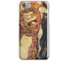 Gustav Klimt - The Bride (Unfinished), Detal 2 iPhone Case/Skin
