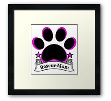Rescue Mom Framed Print