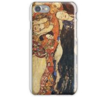 Gustav Klimt - The Bride (Unfinished), Detal 1 iPhone Case/Skin