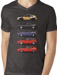 Stack of Corrados Mens V-Neck T-Shirt