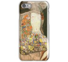 Gustav Klimt - The Bride (Unfinished), 1918 iPhone Case/Skin