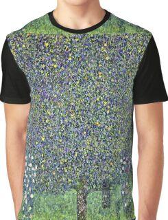 Gustav Klimt - Roses Under The Trees  Graphic T-Shirt