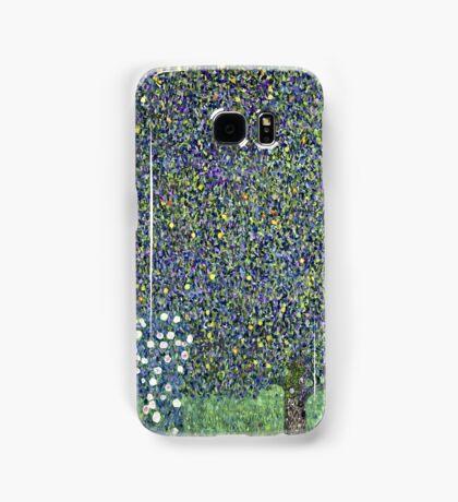 Gustav Klimt - Roses Under The Trees  Samsung Galaxy Case/Skin