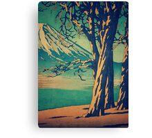 Late Hues at Hinsei Canvas Print
