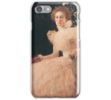 Gustav Klimt - Portrait Of Sonja Knips 1898 iPhone Case/Skin