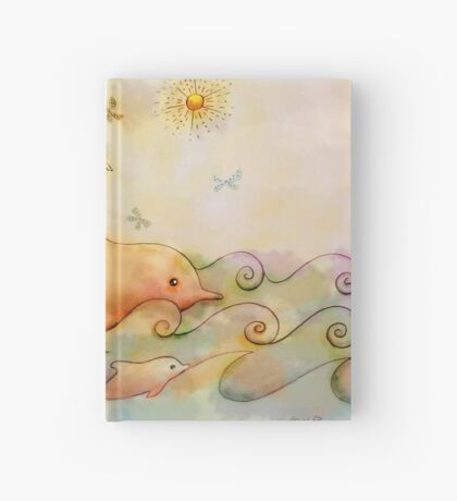 dolphin ride Hardcover Journal