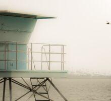 Lifeguard Station, Long Beach Sticker