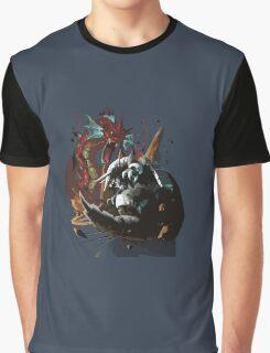 Graphic Aggron vs Gyarados Graphic T-Shirt