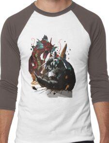 Graphic Aggron vs Gyarados Men's Baseball ¾ T-Shirt