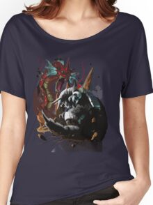 Graphic Aggron vs Gyarados Women's Relaxed Fit T-Shirt
