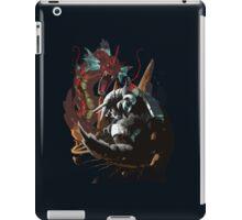 Graphic Aggron vs Gyarados iPad Case/Skin