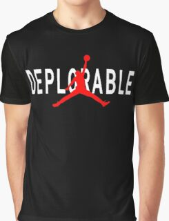 Deplorable X Jordan Black Graphic T-Shirt