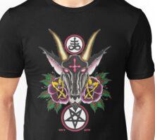 Baphomet Roses Unisex T-Shirt