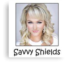 Savvy Shields, Miss USA 2017 ! Canvas Print