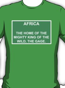 Welcome to Africa T-Shirt