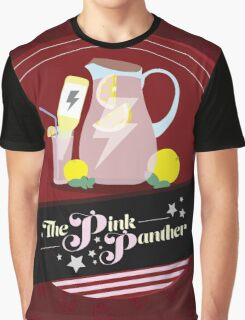 Pink Drinks Graphic T-Shirt