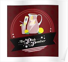 Pink Drinks Poster