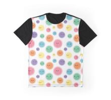 Colorful Blobs Graphic T-Shirt