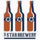 Beer Bottles Star Brewery Retro by patrimonio