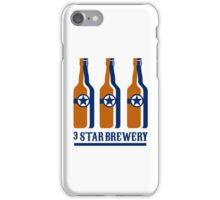Beer Bottles Star Brewery Retro iPhone Case/Skin