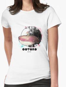 お寿司_大トロ Womens Fitted T-Shirt