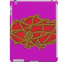 Rope Knots Hearts Strength Love Web Connection  iPad Case/Skin