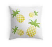 The tao of the Pineapple  Throw Pillow