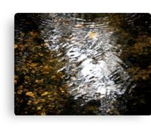 Converging Ripples Canvas Print